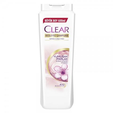 Clear Şampuan Yumuşak Parlak 600 ml