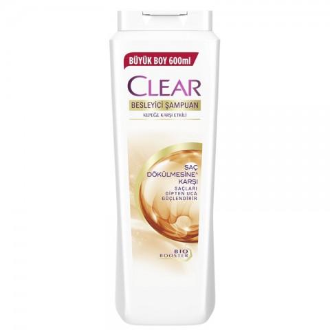 Clear Women Şampuan Kuru Saç Dökülmelerine Karşı 650 ml