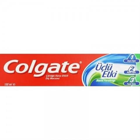 Colgate 3'lü Etki Nane Ferahlığı 100 Ml