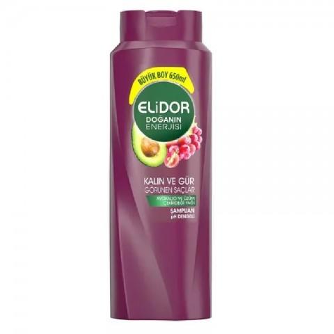 Elidor Şampuan Kalın Ve Gür Görünen Saçlar 650 ml