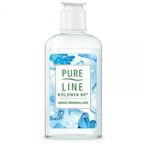 Pureline Kolonya Deniz Mineralleri  80° 250 ml