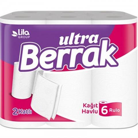 Berrak Ultra Havlu 6 'lı