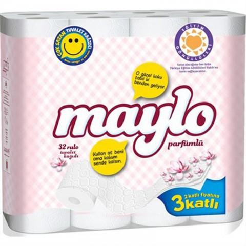 Maylo Tuvalet Kağıdı 3 Katlı 32'lı
