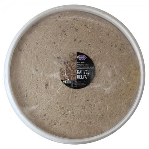 Halis Doğal Kahveli Helva 4 kg