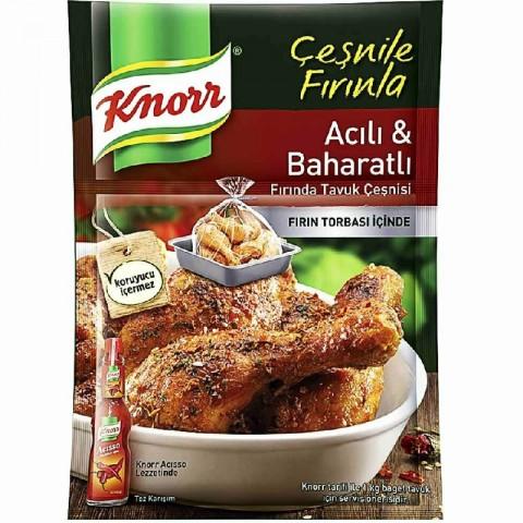 Knorr Tavuk Çeşnili Acılı...