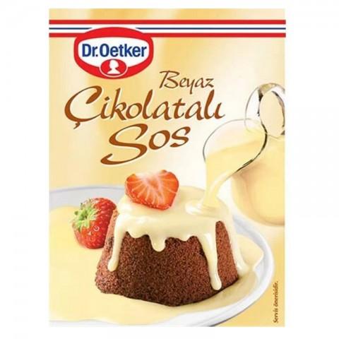 Dr.Oetker Beyaz Tatlı Sos Çikolata 80 Gr