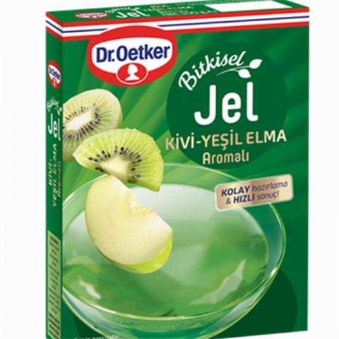 Dr.Oetker Bitkisel Jel Kivi-Yeşil Elma Aroma