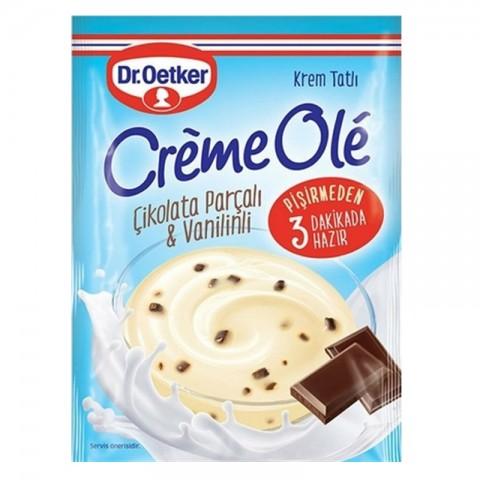 Dr.Oetker Cremeole ÇikolataParçacıklı&Vanilinli 109 Gr