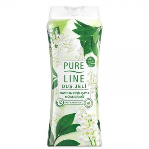 Pureline Duş Jeli Yeşil Çay...