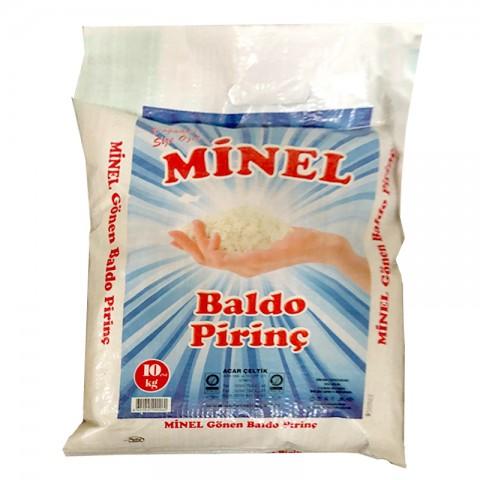 Minel Baldo Pirinç 10 Kg