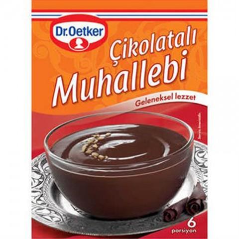 Dr.Oetker Çikolatalı Muhallebi 215 Gr