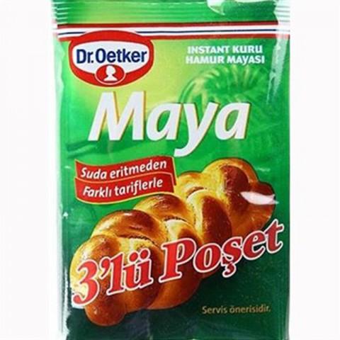 Dr.Oetker Instant Maya 3'lü 60 Gr