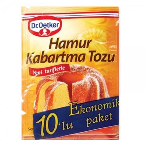 Dr.Oetker Kabartma Tozu 10'lu