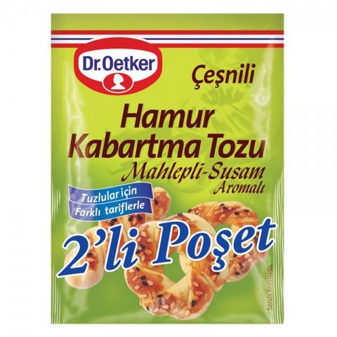 Dr.Oetker Kabartma Tozu Çeşnili 2'li