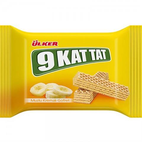 Ülker 9 Kat Tat Muzlu Gofret