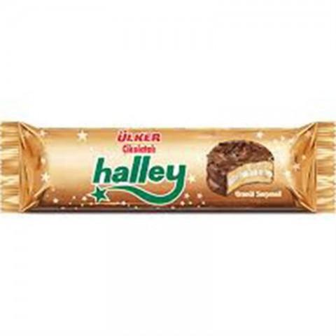 Ülker Halley Çikolata Kaplı Bisküvi