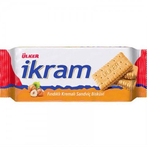 Ülker Ikram Fındıklı Kremalı Bisküvi