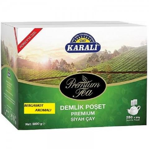 Karali Premium Demlik Poşet Bergamotlu 24 gr
