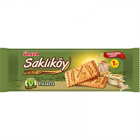 Ülker Saklıköy Yulaflı Bisküvi