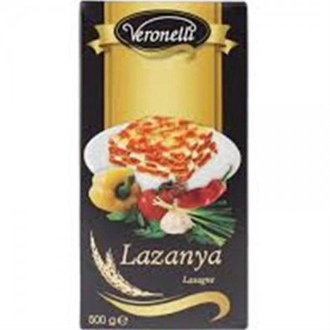 Veronelli Lüks Lazanya 500 Gr