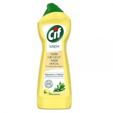 Cif Krem Temizlik Süper Limon 750 Ml