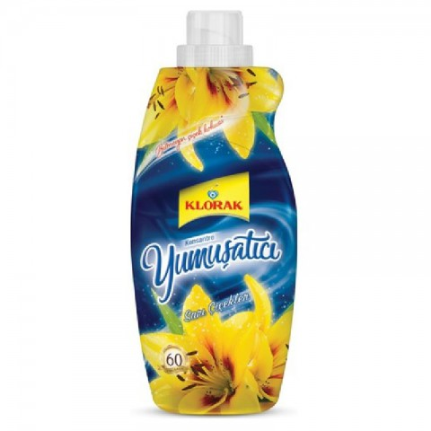 Klorak Konsantre Yumuşatıcı Sarı Çiçek 1,440 ml
