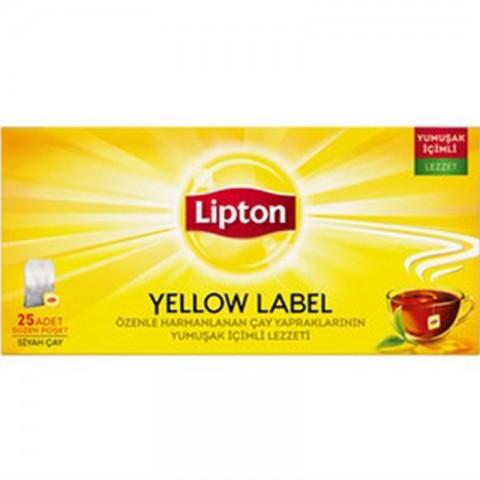 Lipton Yellow Bardak Poşet 25'li