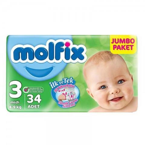 Molfix Jumbo Midi No:3 + 5 Maske