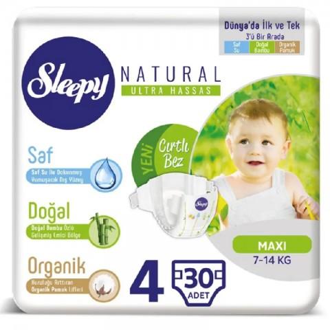 Sleepy Çocuk Bezi Natural 7-18 kg No:4