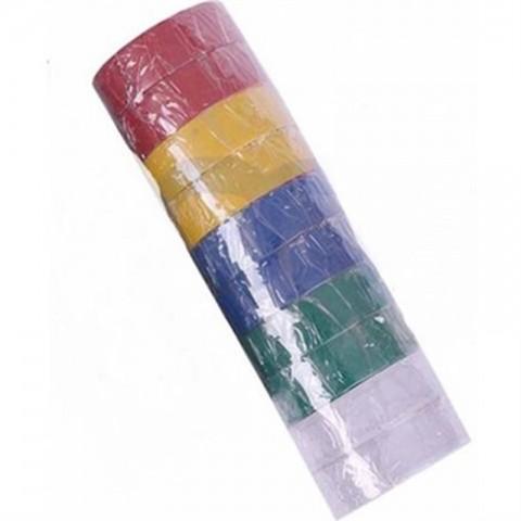 Elektrik Bandı Renkli 10'lu